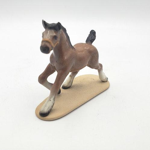 Vintage Miniature Ceramic Horse