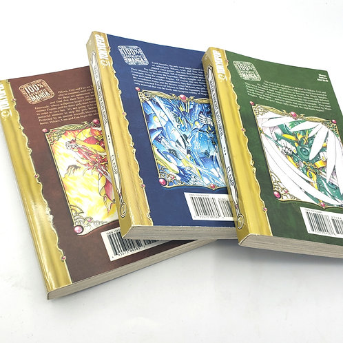 Magic Knight Rayearth II By Clamp Books  1 2 and 3