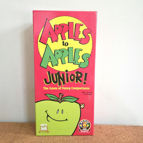 Apples to Apples Junior! Ages 7 Up 4-10 Players