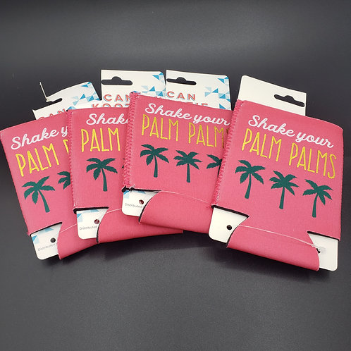 Can Koozie Shake Your Palm Palms Koozies Set of 4