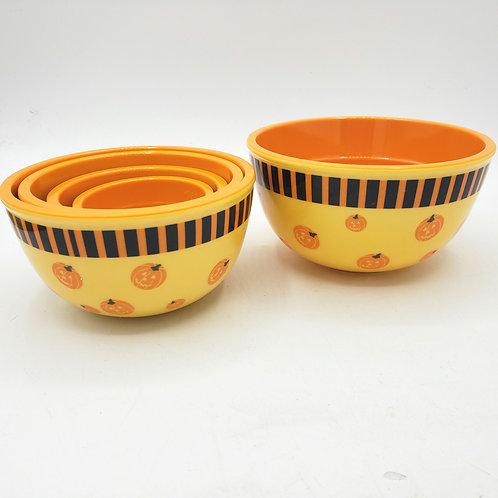 Pumpkin Melamine Measuring Cups Set