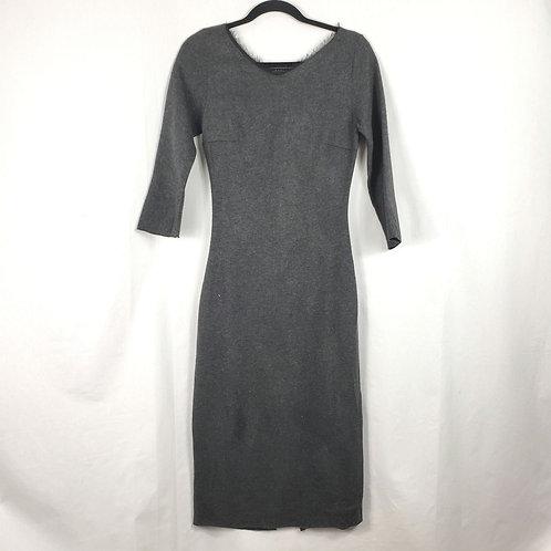 Maria Bianca Nero Gray Dress - M
