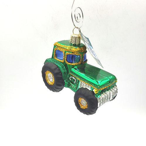 Old World Christmas Tractor Ornament NEW