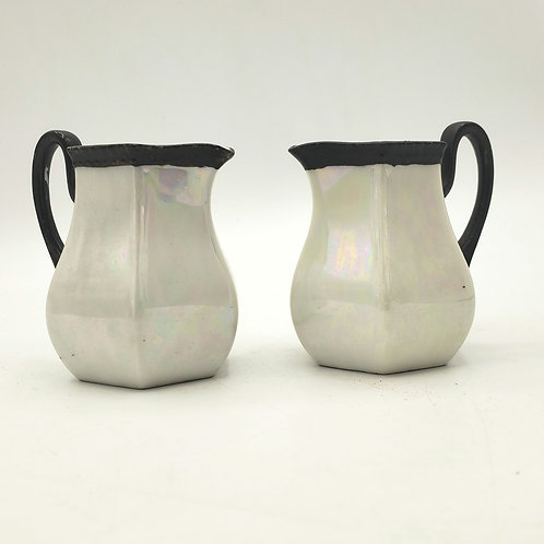 Antique Salt and Pepper Shakers Germany Porcelain