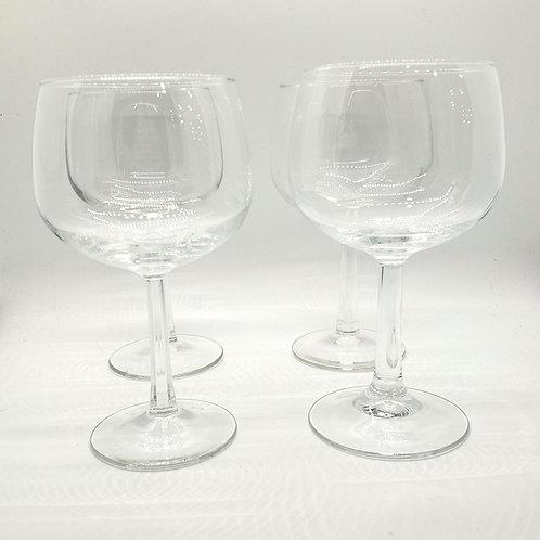 Red Wine Glasses Set of 4