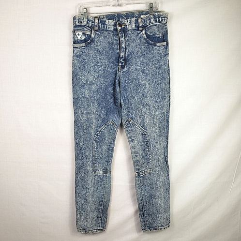 Vintage Millers Stonewashed Riding Jeans - size 34