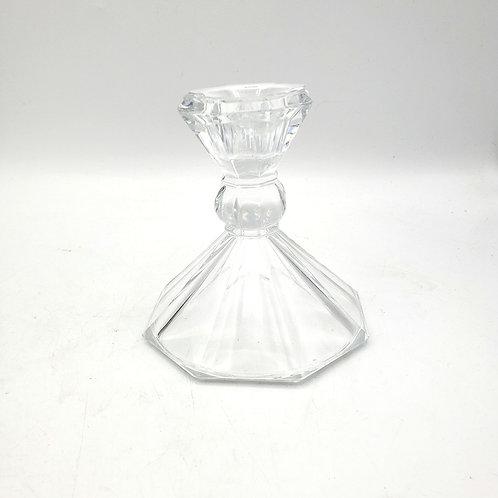 Vintage Crystal Candle Holder