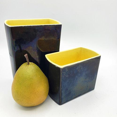 Vintage Ceramic Planters Set of 2