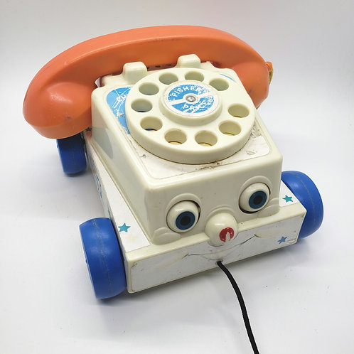 Fisher Price Chatter Phone As IS