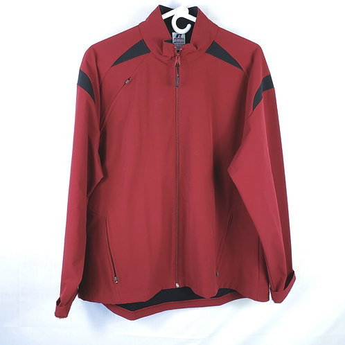 Russell Dark Red Athletic Jacket - XXL