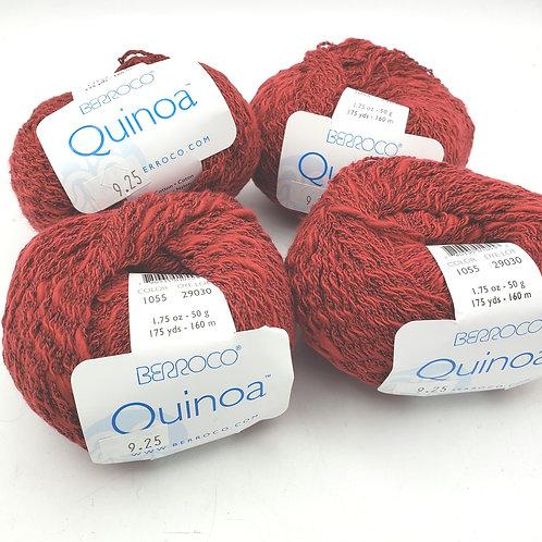 Berroco Quinoa 91% Cotton 1.75yds 1.75oz  4 Skeins