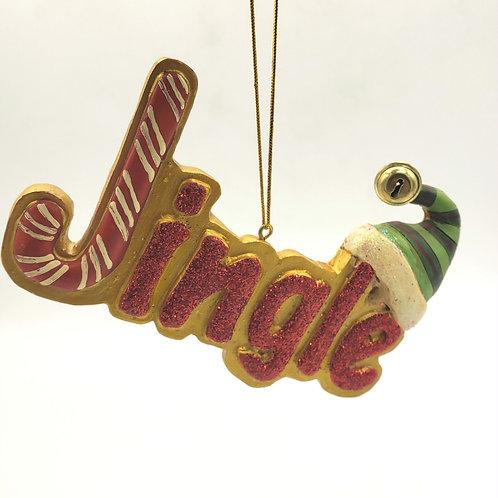 Large Jingle Ornament
