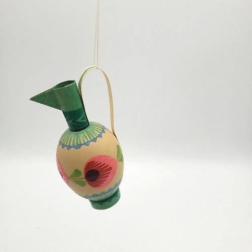 Painted Eggshell Ornament
