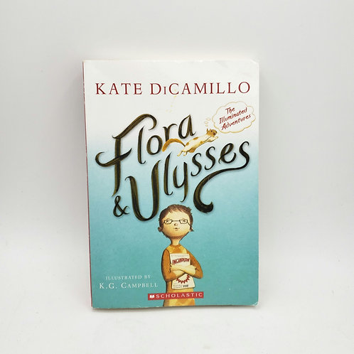 Flora & Ulysses by Kate Dicamillo Paperback  8-11 years