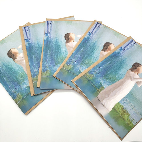 Willow Tree Blank Cards with Envelopes Set of 5