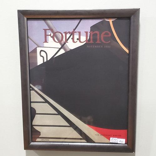 Framed Fortune Magazine Cover November 1944