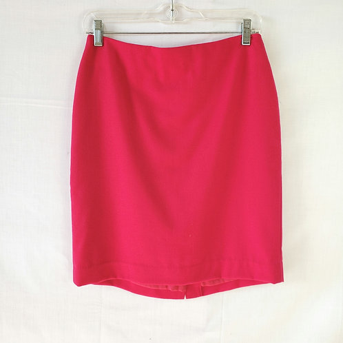 Talbots Pink Wool Blend Pencil Skirt - 4P