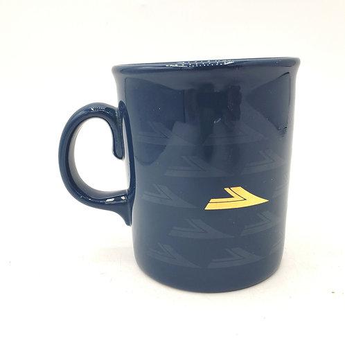 Ceramic Blue Mug Made in England
