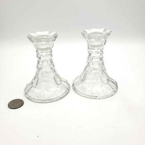 Glass Votive Holders Set of 2