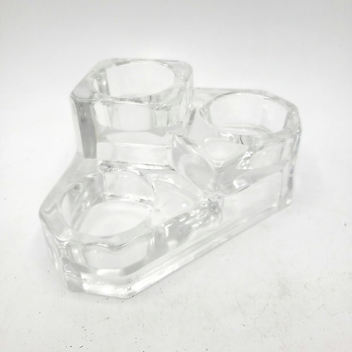 Partylite Castle Tealight Candle Holder(for 3)