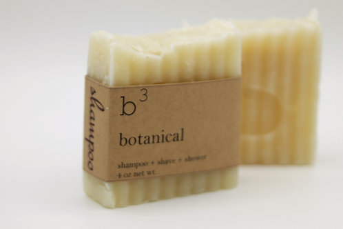 b3 shampoo bar botanical