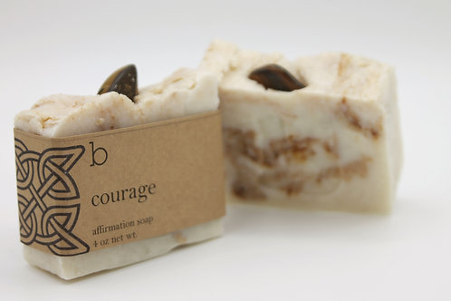 courage affirmation soap