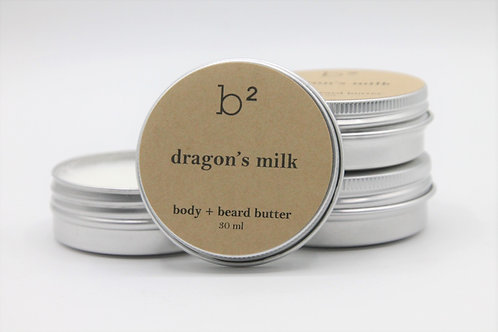 b2 body + beard butter dragon's milk