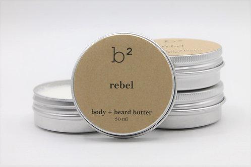 b2 body + beard butter rebel
