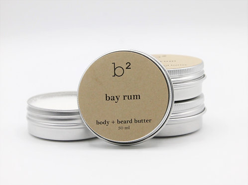 b2 body + beard butter bay rum