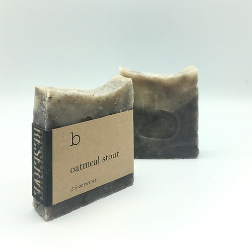 Oatmeal Stout Soap - Reserve Soap Collection