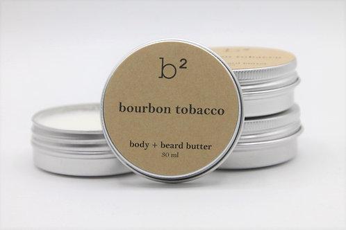 b2 body+ beard butter bourbon tobacco