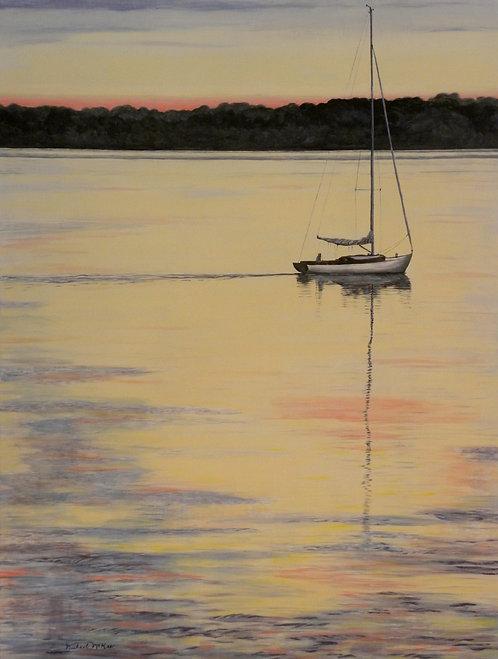 """Sunrise at Narrangansett Bay"""