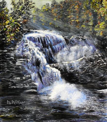 """""""Bald River Falls"""""""