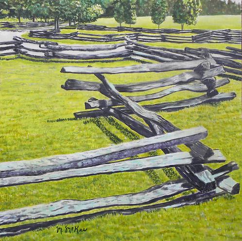 """Rail Fence at Cades Cove"""