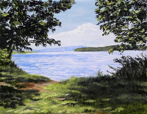 """""""View at Melton Lake"""""""