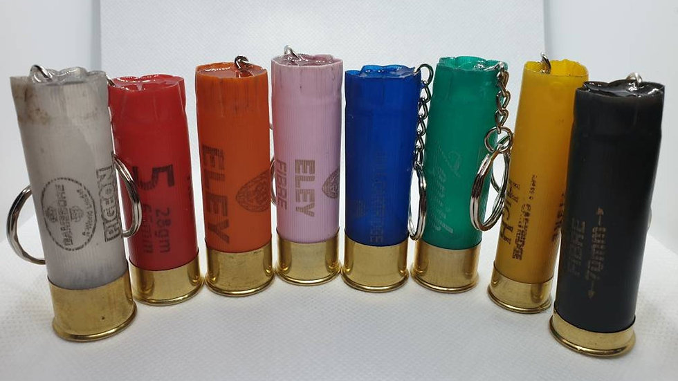 Shotgun Cartridge Keyring