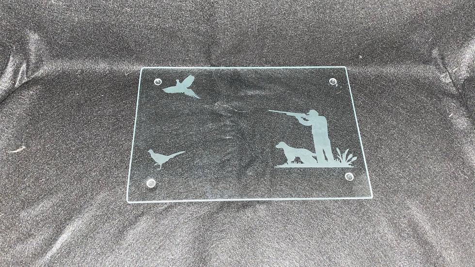 Pheasant Scene Chopping Board