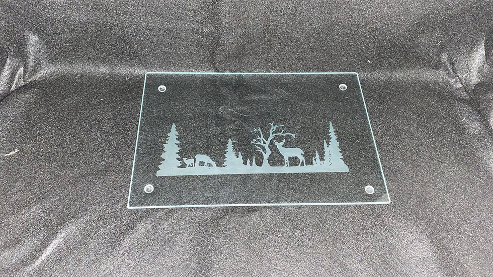 Forest chopping board