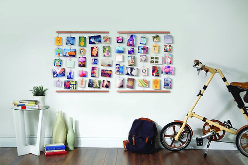 Hanging Photo Display-White