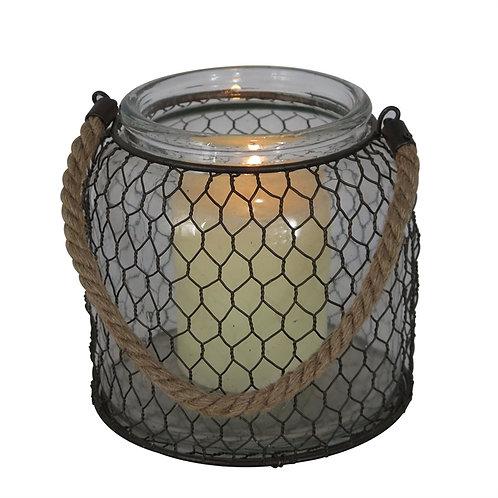 Chicken Wire Lantern-Large