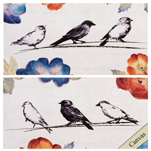 Song Birds Canvas