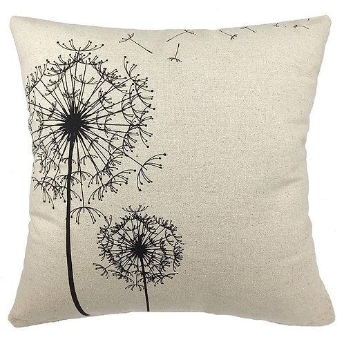 Dandelion As You Wish Throw Pillow