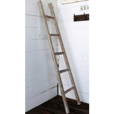 Primitive Wood Display Ladder