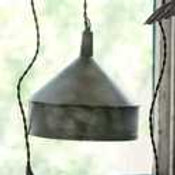 Metal Funnel Pendant Light