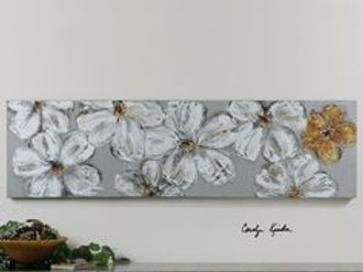 Daisies -Long Canvas