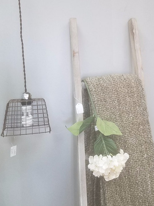 Wire Berry Basket Pendant Light