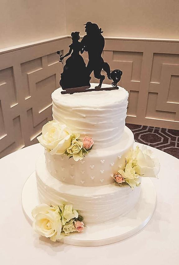 Beauty And The Beast Wedding Cake.Becky S Cakes Crewe Beckys Bespoke Wedding Cakes Cewe Cheshre