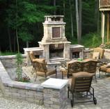 Fireplace Courtyard Patio