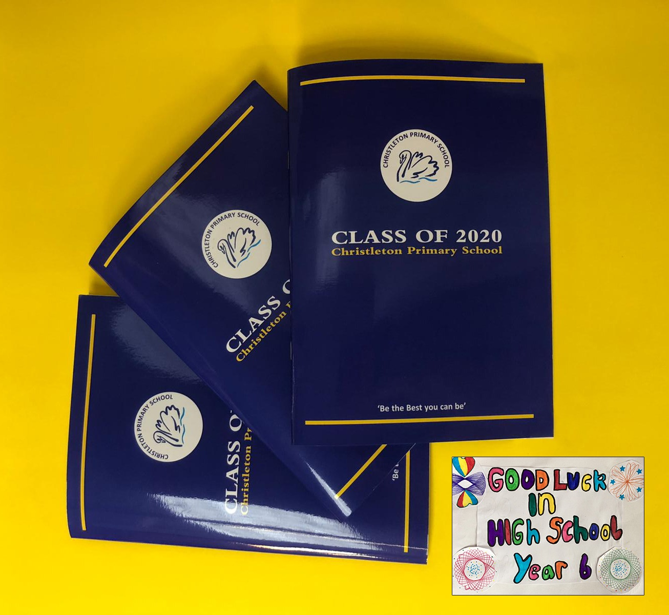 We have been printing Keepsake Photo Year Books for school leavers ready for their next adventure!