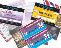 Menus, Posters and Tickets